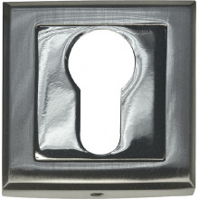 Накладка под евроцилиндр квадрат BUSSARE B0-30 S.CHROME Хром матовый