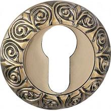 Накладка под евроцилиндр круглая BUSSARE B0-20 ANT.BRONZE Античная бронза