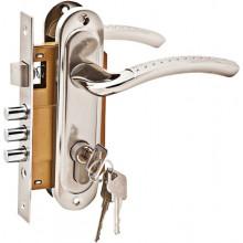 Комплект дверной PALIDORE LH7036-59SN, Хром матовый