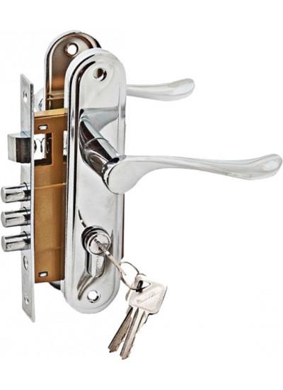Комплект дверной PALIDORE LH7036-X11PC, Хром блест