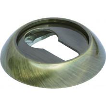 Накладка круглая на ключевой цилиндр MORELLI MH-KH AB античная бронза