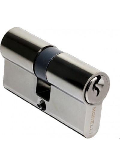 Ключевой цилиндр ключ/ключ MORELLI 60C BN черный никель