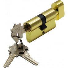 Цилиндр ключ-завёртка BUSSARE CYL 3-60 TR GOLD Золото матовое