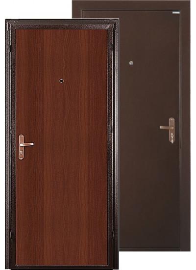 Дверь стальная VALBERG СПЕЦ (Медный антик - Итальянский орех)