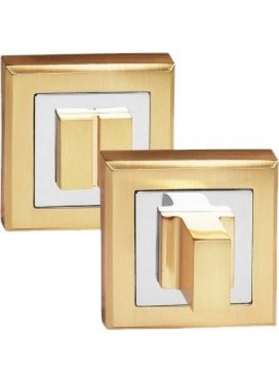Завертка PALIDORE сантехническая на квадратной накладке OLS SB Золото матовое