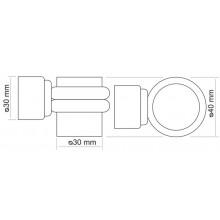 Дверной ограничитель магнитный MORELLI MDS-4 AB античная бронза
