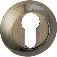 Накладка под евроцилиндр круглая BUSSARE B0-10 ANT.BRONZE Античная бронза