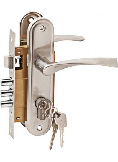 Комплект дверной PALIDORE LH7036-891SN, хром матовый