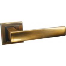 Ручка дверная на квадратной накладке BUSSARE LIMPO A-65-30 COFFEE MOCHA кофе мокко