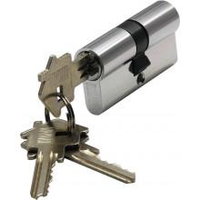 Цилиндр ключ-ключ BUSSARE CYL 3-60 CHROME Хром матовый