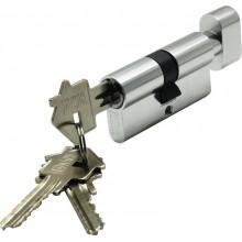 Цилиндр ключ-завёртка BUSSARE CYL 3-60 TR CHROME Хром матовый