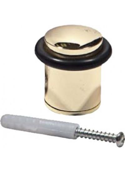 Ограничитель дверной ARSENAL C 04 PB, золото