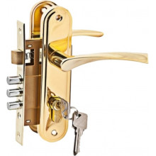 Комплект дверной PALIDORE LH7036-891PB, золото блест.