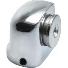 Дверной ограничитель магнитный MORELLI MDS-2 SN белый никель