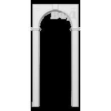 Межкомнатная арка Шпон - Классика - Белая эмаль