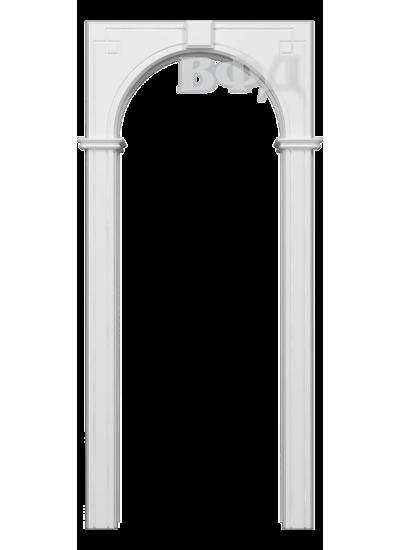 ВФД - Межкомнатная арка Шпон - ВФД - Классика - Белая эмаль