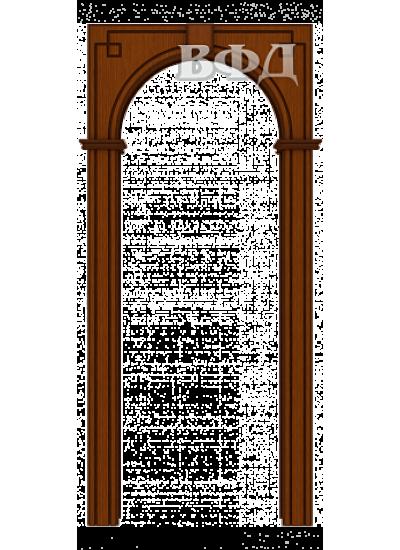 ВФД - Межкомнатная арка Шпон - ВФД - Классика - Макоре