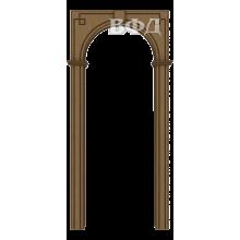 Межкомнатная арка Шпон - Классика - Орех