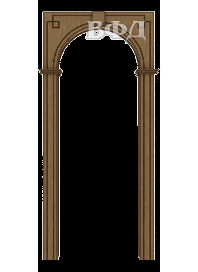 ВФД - Межкомнатная арка Шпон - ВФД - Классика - Орех