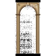 Межкомнатная арка Шпон - Классика - Светлый дуб