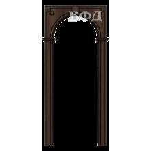 Межкомнатная арка Шпон - Классика - Венге