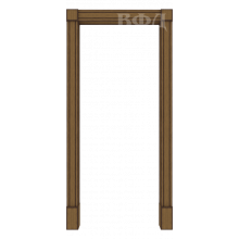 Межкомнатная арка Шпон - Портал - Орех