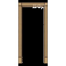 Межкомнатная арка Шпон - Портал - Светлый дуб
