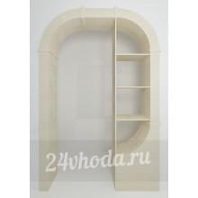 Межкомнатная арка ЛДСП - С полками - (в проем от 120 см)