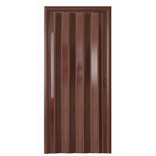 Дверь-гармошка (глухая) - «Комфорт» - Венге
