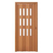 Дверь-гармошка (остекленная) - «Фаворит» - Груша-карат