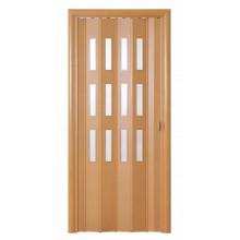 Дверь-гармошка (остекленная) - «Фаворит» - Миланский орех