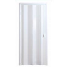 Дверь-гармошка (глухая) - «Стиль» - Белый глянец