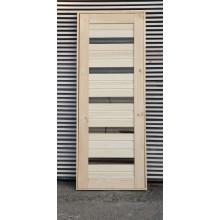 Дверь филёнчатая универсальная «ЦАРГА остекленная ТИП-1»