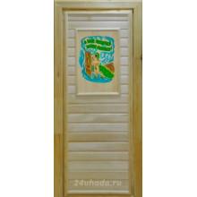Дверь из Липы - (Глухая) - 3D пано - Заново родиться