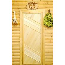 Дверь из Липы - (Глухая) - ПГ-8
