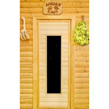 Дверь из осины для бани - ПО 4