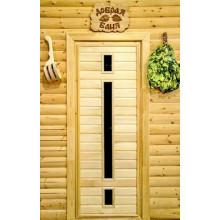 Дверь из Липы - (Остекленная) - ПО-6