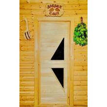 Дверь из Липы - (Остекленная) - ПО-7