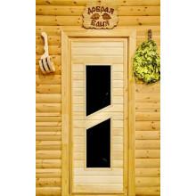 Дверь из Липы - (Остекленная) - ПО-8