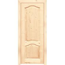 Дверь из массива сосны филенчатая «КАРОЛИНА ДГ»