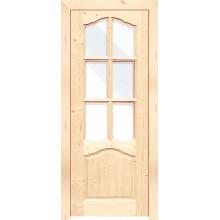 Дверь из массива сосны филенчатая «КАРОЛИНА ДО»