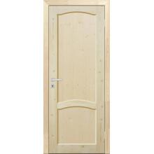 Дверь из сосны филенчатая «ПГ - Арочная»