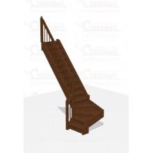 Лестница Г-образная 2 - Эконом