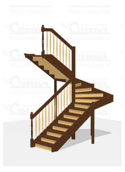 Лестница П-образная - Стандарт