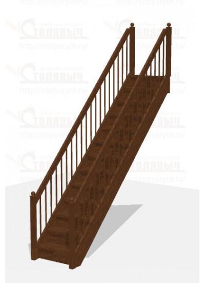 Лестница прямая - Эконом