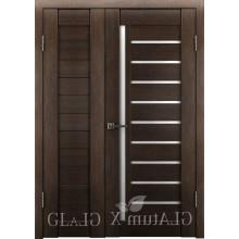 Полуторная дверь GL ATUM X6 + X11 - Венге
