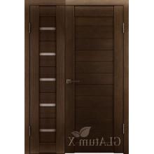 Полуторная дверь GL ATUM X7 + X6 - Венге