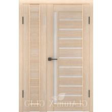Полуторная дверь GL ATUM X6 + X11 - Капучино