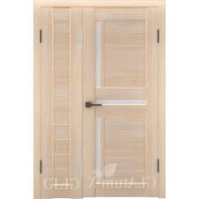 Полуторная дверь GL ATUM X6 + X16 - Капучино