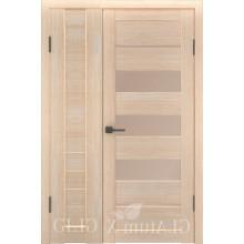 Полуторная дверь GL ATUM X6 + X22 - Капучино